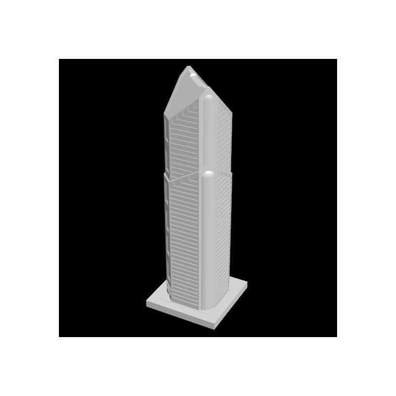 Metropolis Wolkenkratzer, Wohn- und Geschäftsgebäude, JMC-0058