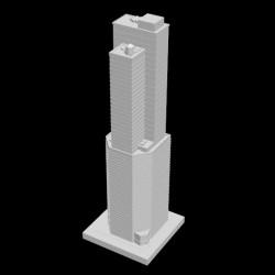 Metropolis Wolkenkratzer, Wohn- und Geschäftsgebäude, JMC-0060
