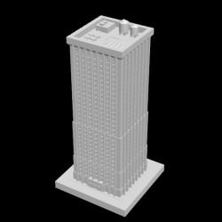 Metropolis Wolkenkratzer, Wohn- und Geschäftsgebäude, JMC-0061