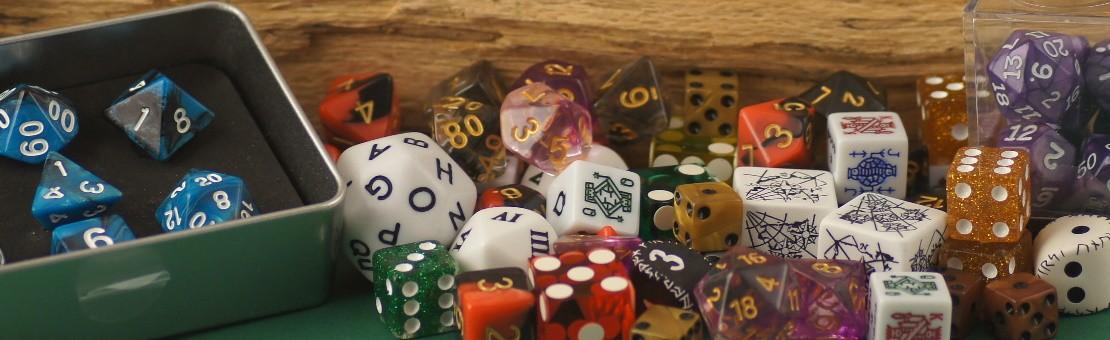 Spiele und Sammlerwürfel